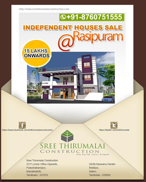 Individual House sale at salem